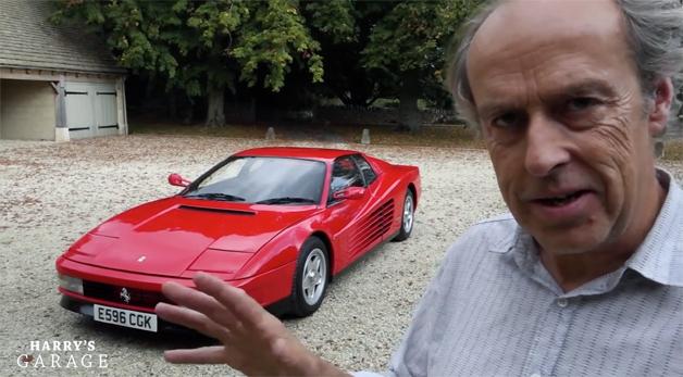 Ferrari Testarossa featured in retrospective by owner Harry Metcalfe