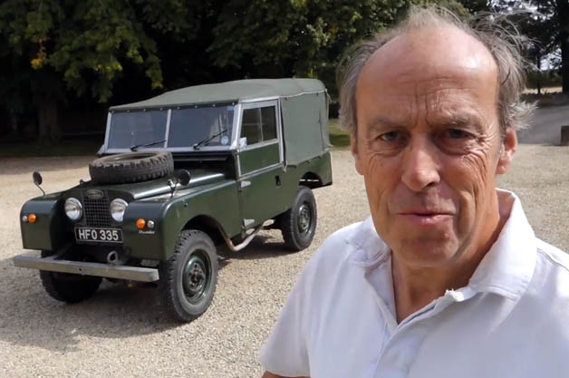 Harry Metcalfe channel hits YouTube with '54 Series I Land Rover