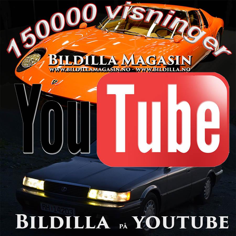 158 000 visninger på YouTube