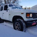 1986 Toyota Land Cruiser prosjektet, fikk «nye» dekk.