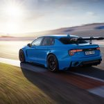 First video of the 528-hp Lynk & Co 03 Cyan Concept