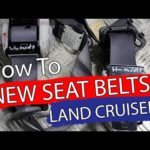 DIY / How To mount new seat belts in a Land Cruiser / PRADO LC120 – Project car – Bildilla Magasin