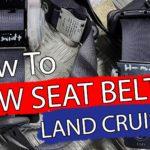 Montering av sikerhetsbelter, Land Cruiser 120