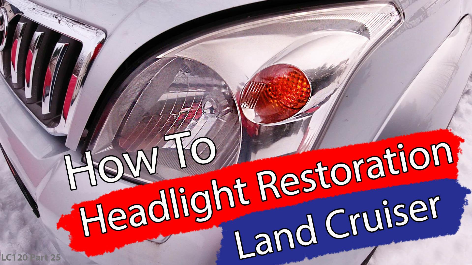 DIY / Hvordan restaurere frontlys – VIDEO