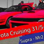 Toyota cruising på Klett
