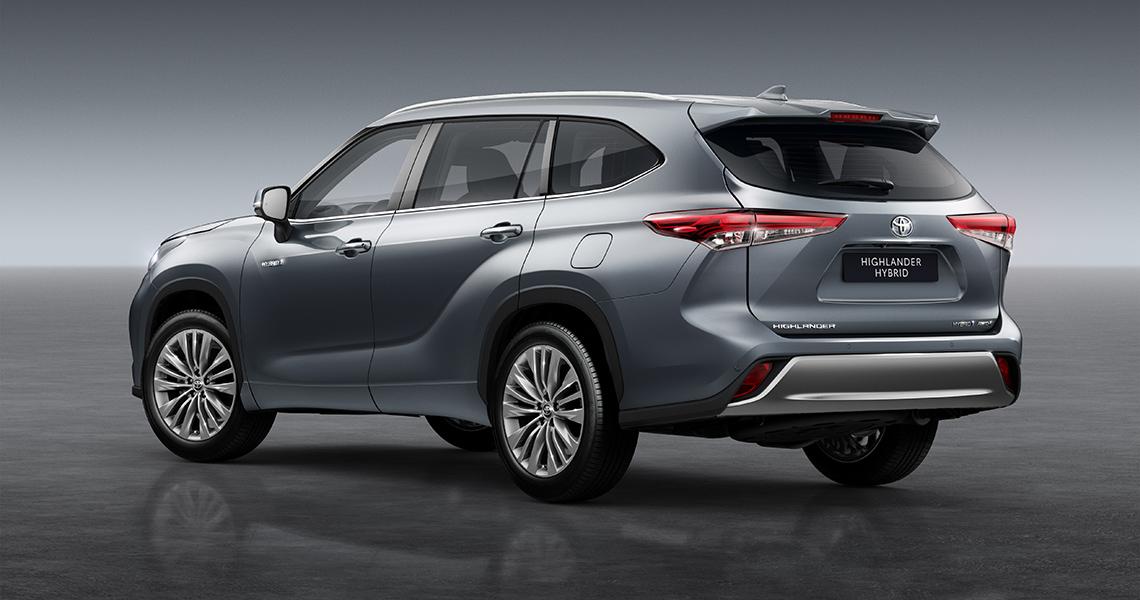 Ny Toyota Hybrid SUV – Highlander