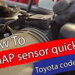 Toyota Map sensor quick fix – Code P0113