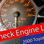 DIY / How to: Check Engine Light