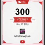 300 videoer på YouTube kanalen