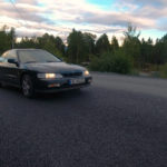 Out Driving the 1995 Honda Accord Coupe 2.2i ES