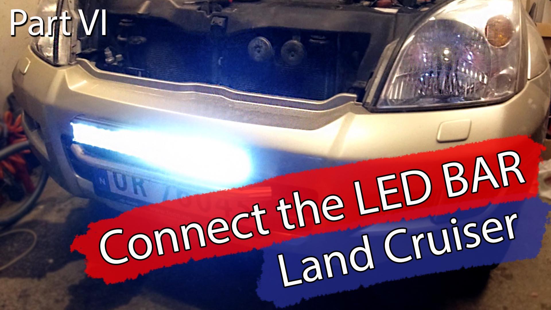 LED bar kobling på LC120