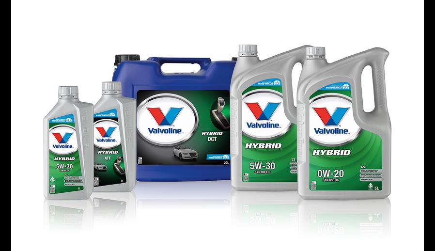Valvoline for hybridbiler.