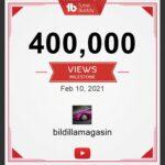 400.000 video visninger