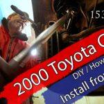 Montering fremre fjærbein 2000 Celica