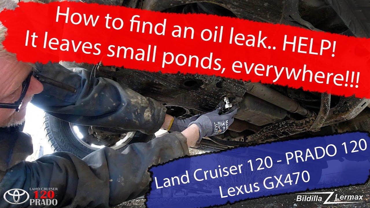 LC120: Den legger igjen små dammer…