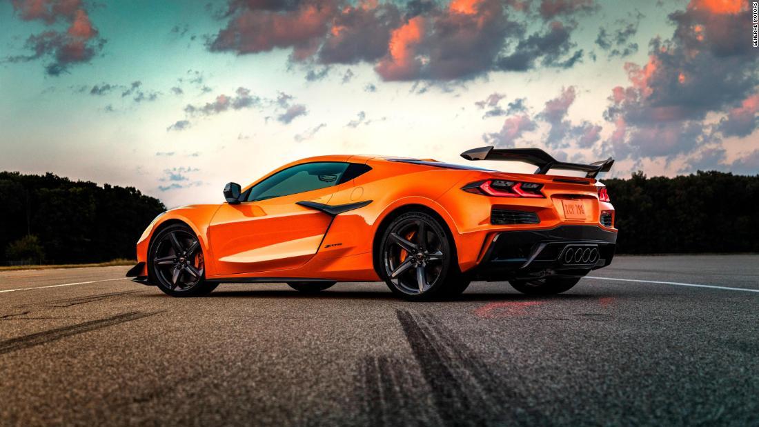 Nye Corvette Z06 er ute av sekken