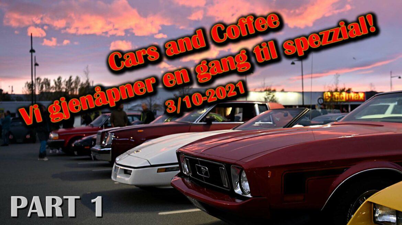 Cars & Coffee – «Vi gjenåpner en gang til spezzial!»