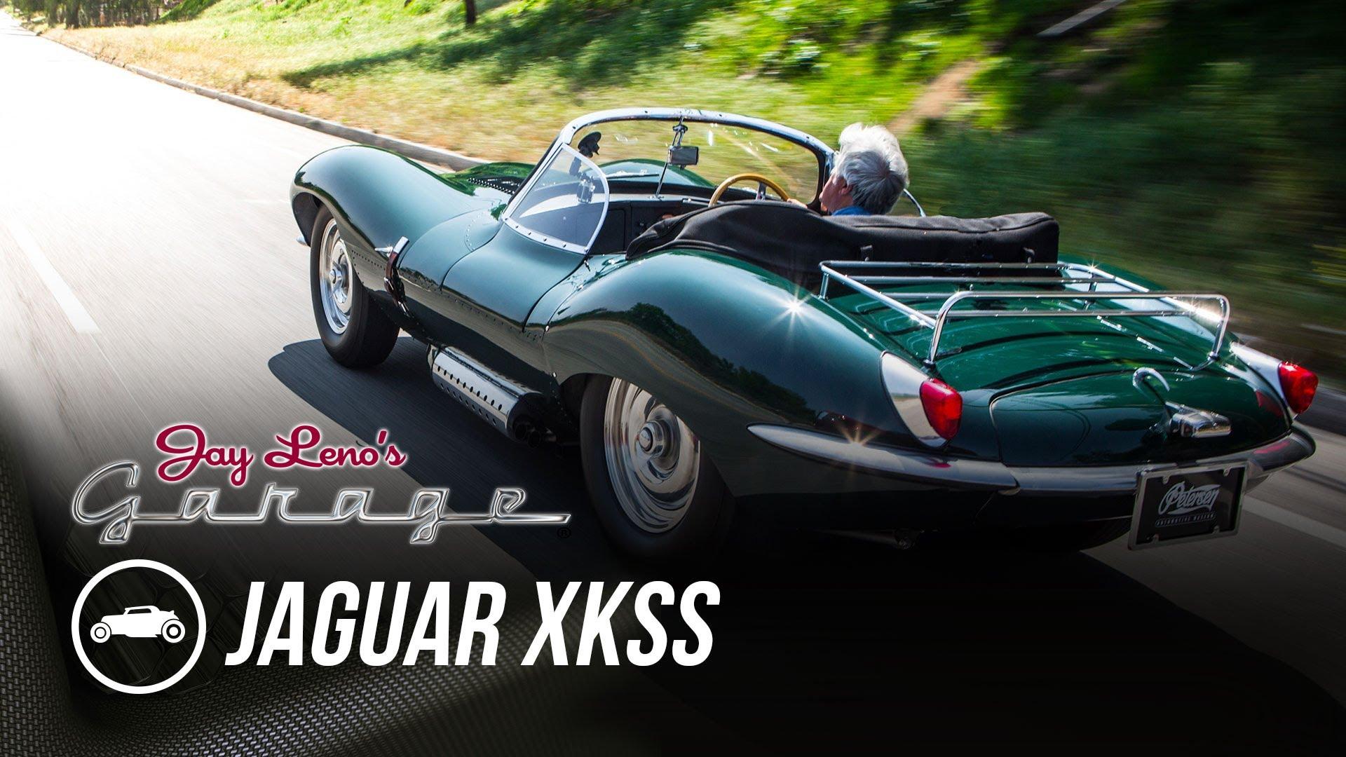 Jaguar brings the new XKSS to Jay Leno's Garage