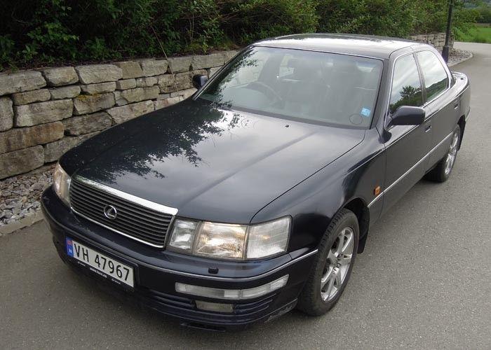 Oppdatering: 1994 LEXUS LS400
