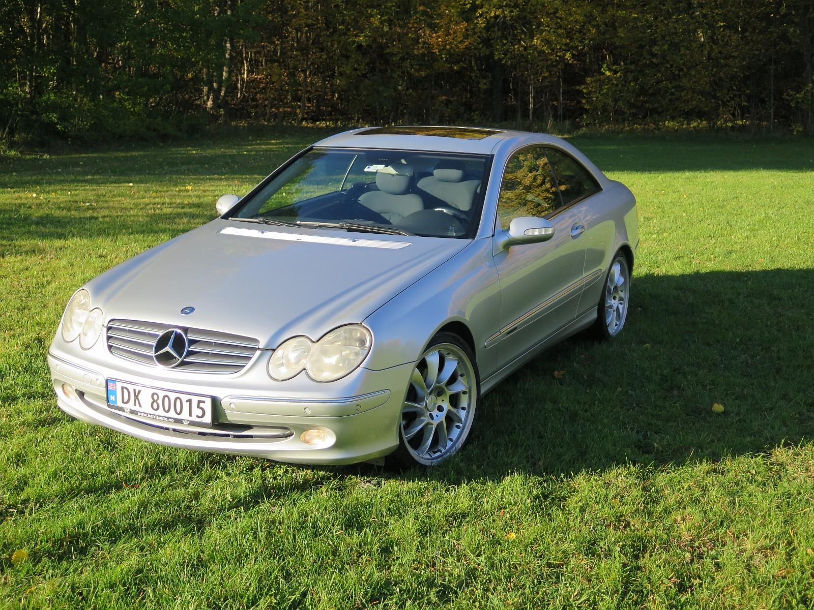 Prosjekt bil: Mercedes CLK 200 Kompressor