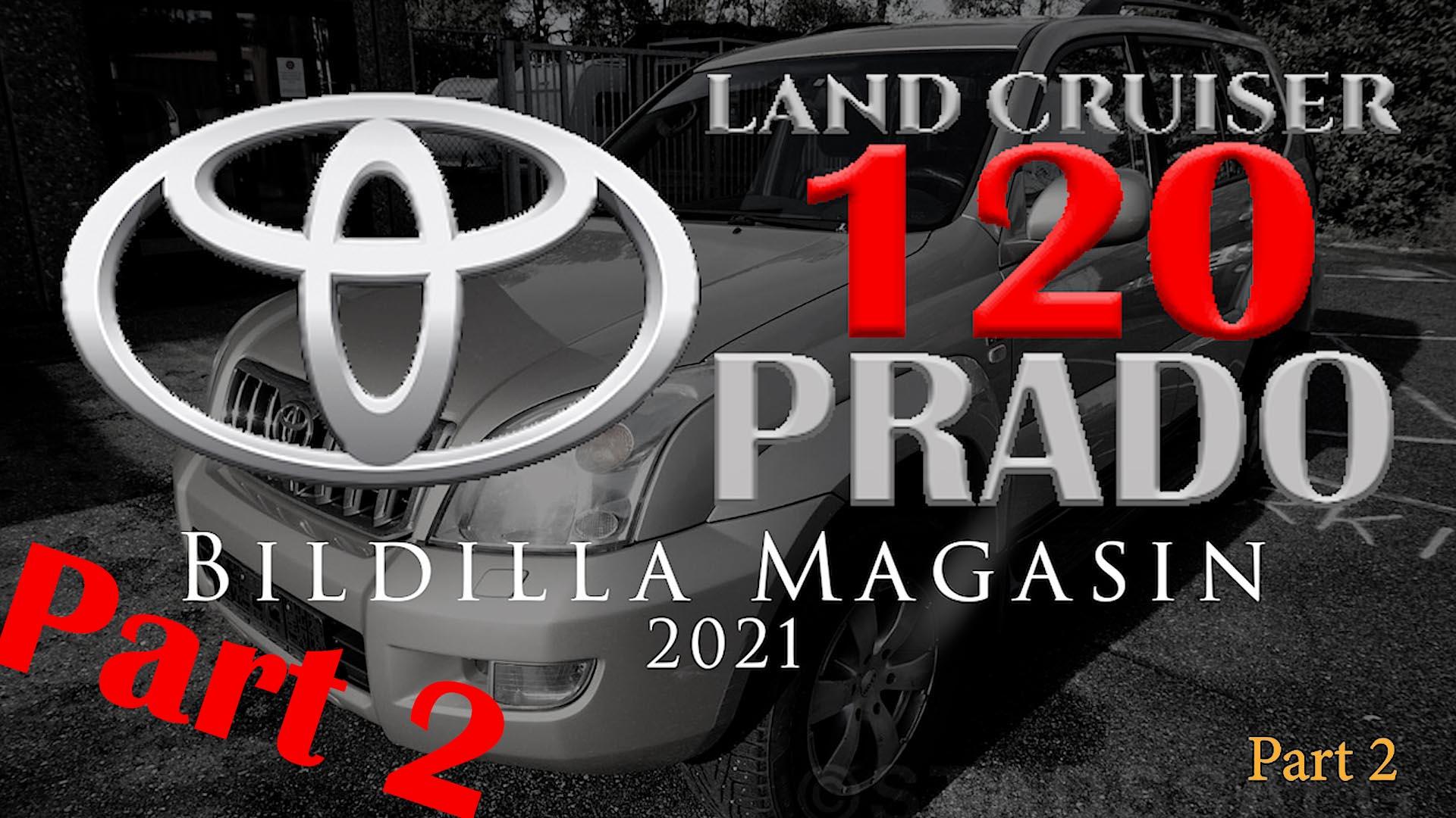 Toyota Land Cruiser / PRADO 120 information and setup, part 2