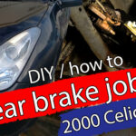 Starter på bakbremsene 2000 Celica 1.8 GT
