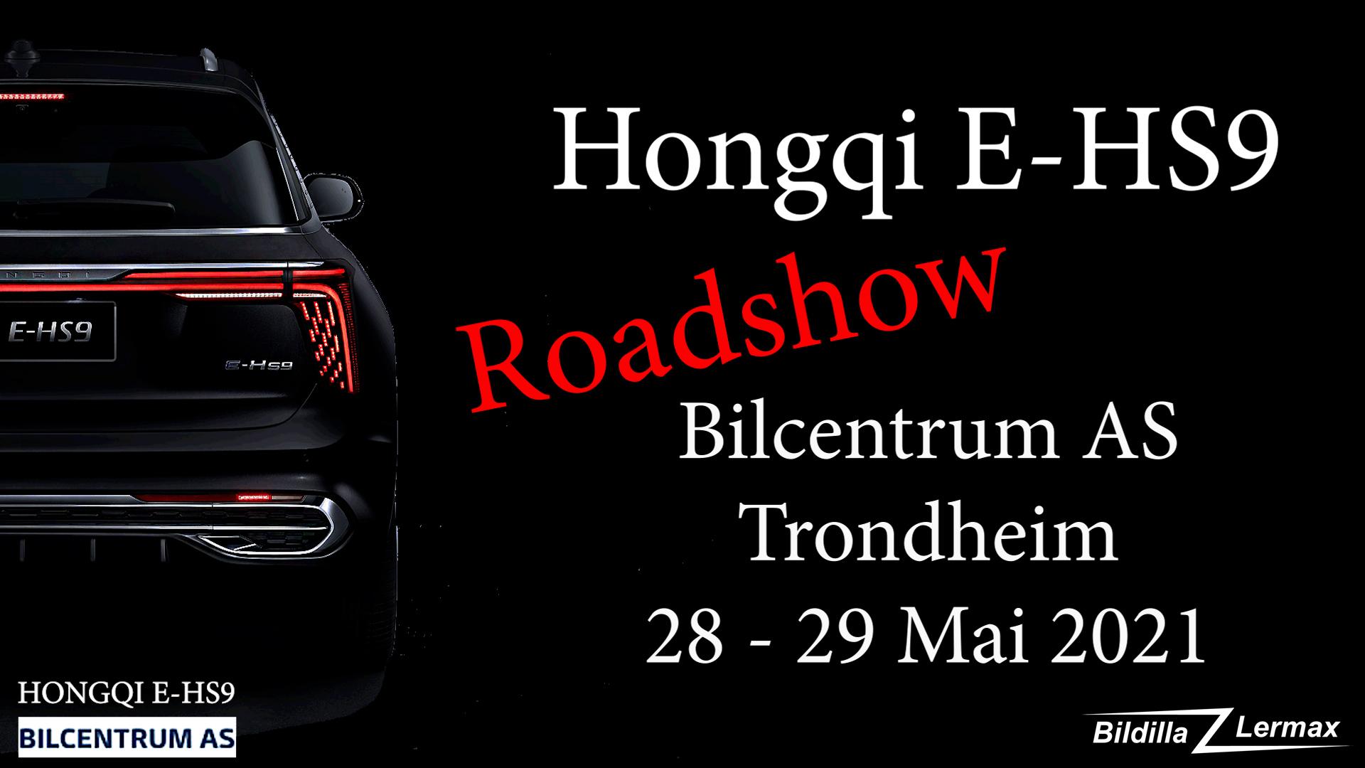HONGQI E-HS9 Roadshow