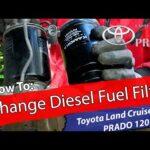 Bytte av diesel filter – Toyota Land Cruiser / PRADO 120 – 3.0 D4D