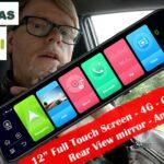 12″ LCD / Speil skjerm, med navigasjon ++