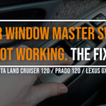 Land Cruiser 120, vinduskontroller virker ikke?
