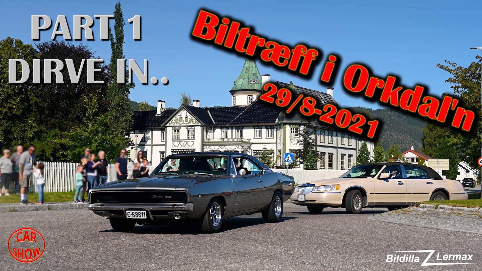 Biltræff i Orkdal`n 2019 – Del 1