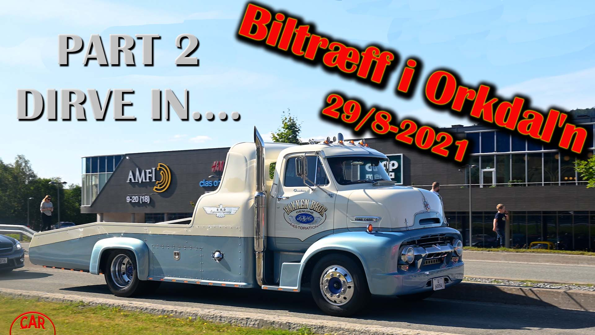 Biltræff i Orkdal'n 2021 – 29/8 – PART 2 – DRIVE IN